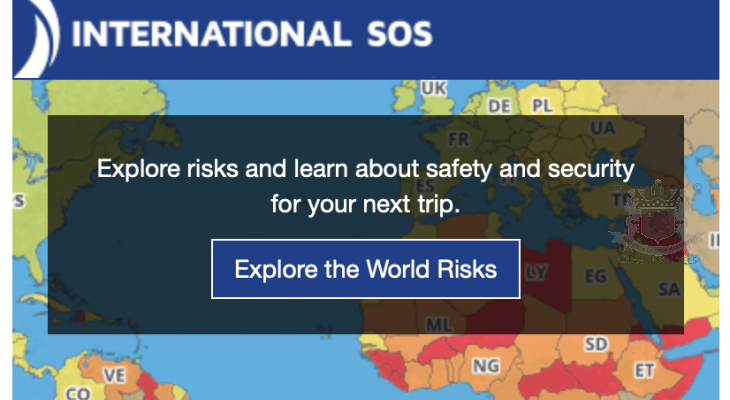 Travel Risk Warning