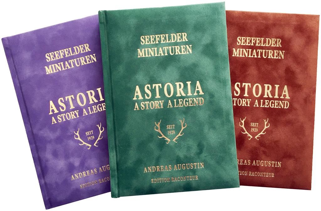 Astoria - SEEFELDER MINIATUREN - A Story - A Legend