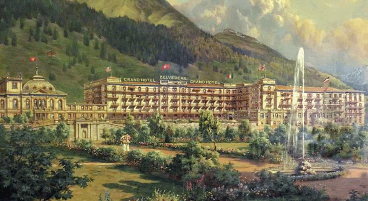 Davos Summit WEF embraces Grand Hotel Belvedere
