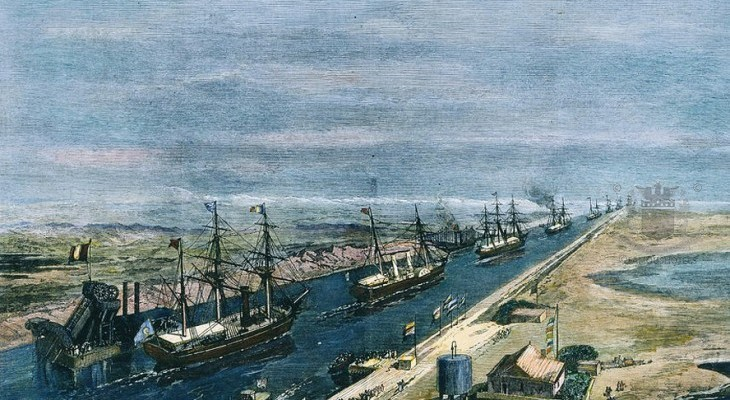 Negrelli and Lesseps: Suez Canal