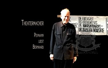 Wien: Claus Peymann liest Thomas Bernhard