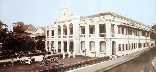 bangkok oriental around 1900