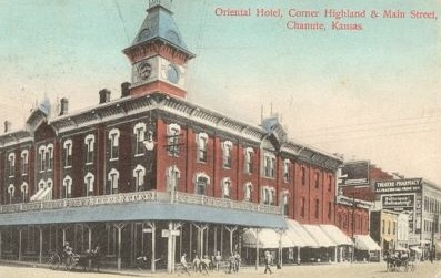 The Oriental Hotel in Chanute, Kansas