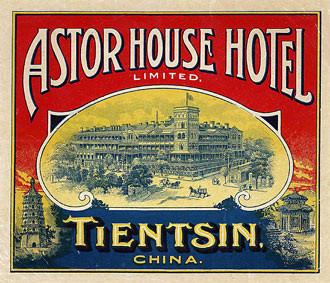 astor house label famoushotels
