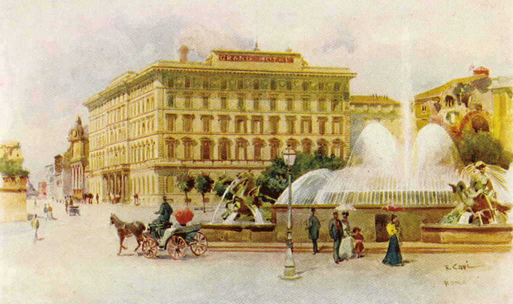 grand hotel rome