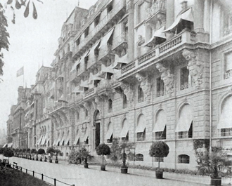 History Grand Hotel National Lucerne