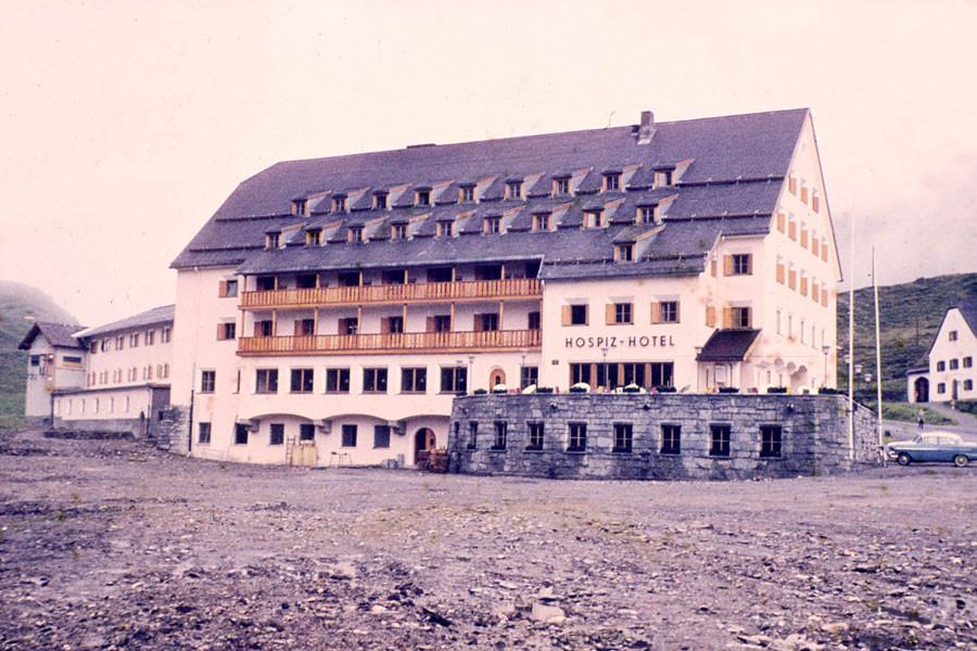 History Arlberg Hospiz