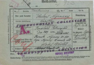 nijinksy meldezettel - registration
