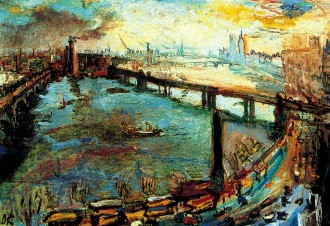 kokoschka thames savoy london