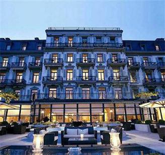 History Hotel des Trois Couronnes, Vevey