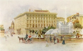 History St Regis Grand Hotel, Rome