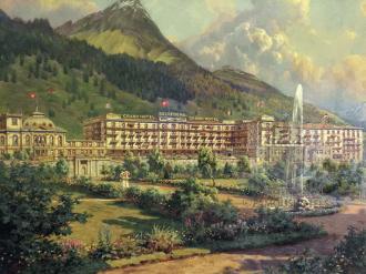 History Grand Hotel Belvedere