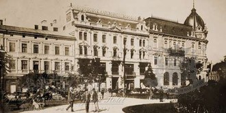 History Grand Hotel Lviv (Lemberg)