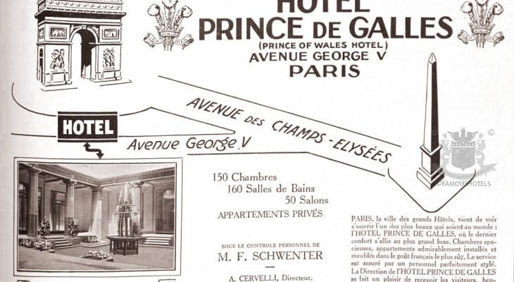 PARIS: Prince de Galles