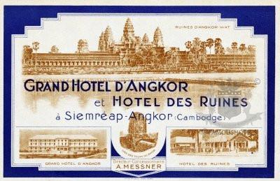 History Grand Hotel d'Angkor