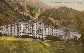 History Grand Hotel Kronenhof