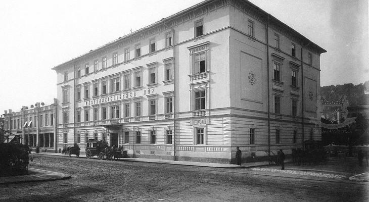 History Sacher Salzburg