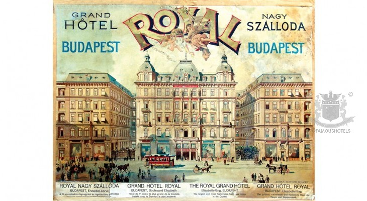 History Grand Hotel Royal (Corinthia Budapest)