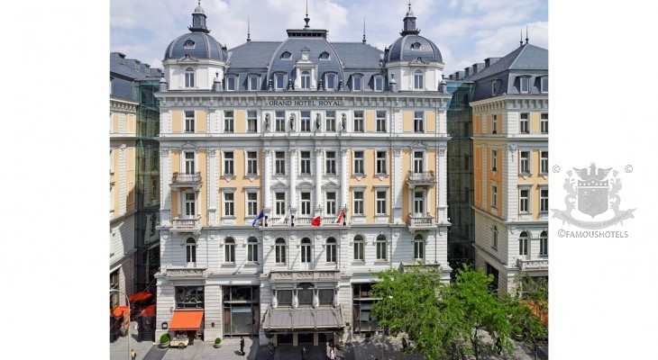 Present Grand Hotel Royal (Corinthia Budapest)