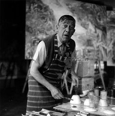 Artist: Oskar Kokoschka at The Savoy