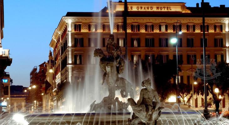 Present St Regis Grand Hotel, Rome