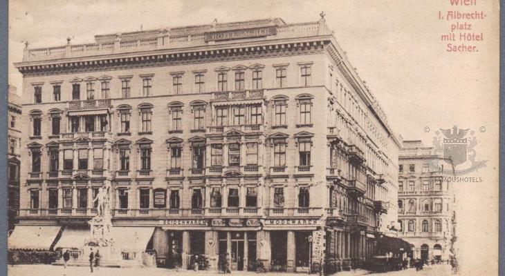 History Sacher Wien