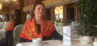 Breakfast with Laura Fanecco, Grand Hotel Excelsior