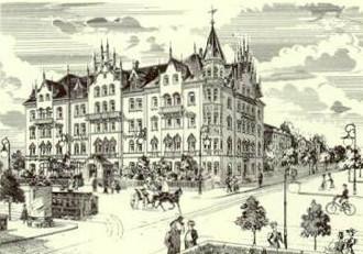 History Grand Hotel Nuremberg