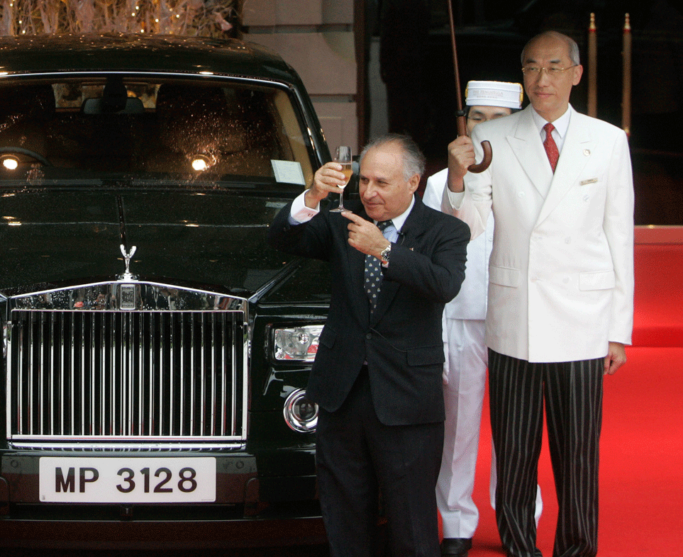Kadoorie, Sir Michael